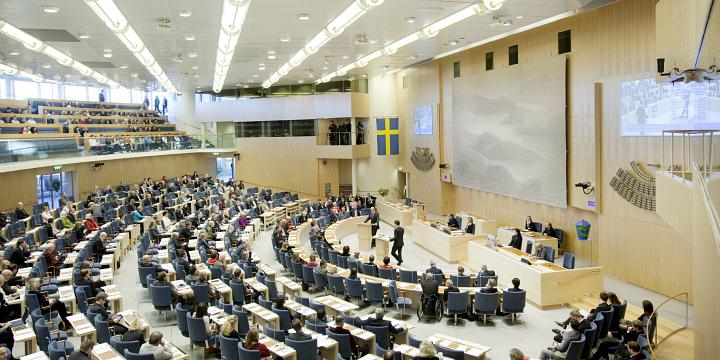 Bild: Melker Dahlstrand/Riksdagen