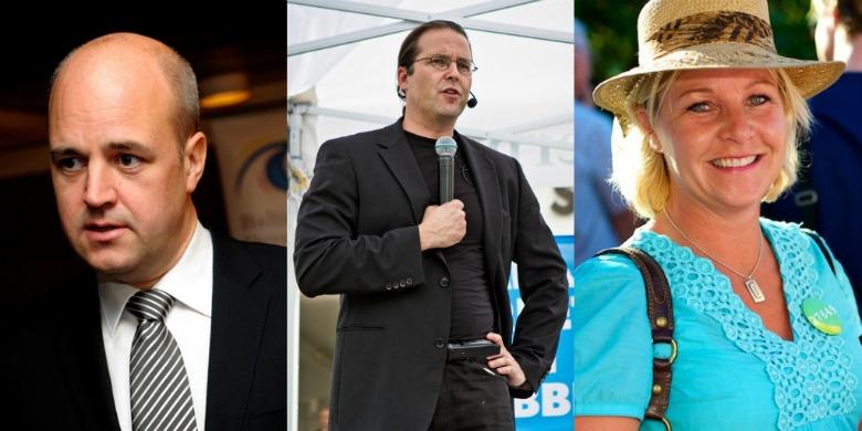 Fredrik Reinfeldt, Anders Borg och Hillevi Engström. Bild: Baltic Development Forum, crsan - christianholmer.com, tobias.bjorkgren