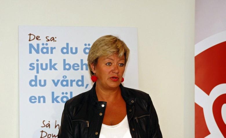 Ylva Johansson. Bild: Socialdemokraterna