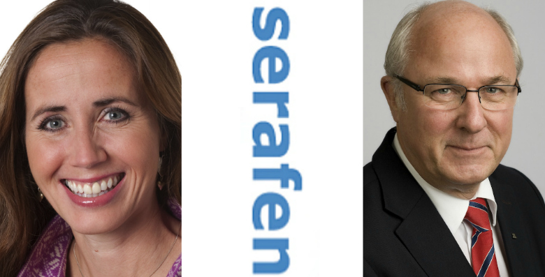 Filippa Reinfeldt och Lars Joakim Lundquist. Pressbilder från M i Stockholms läns landsting: Jonna Thomasson, Peter Knutson.
