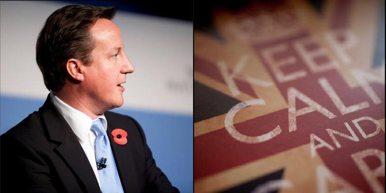 Eu maste kampa for ett brittiskt ja