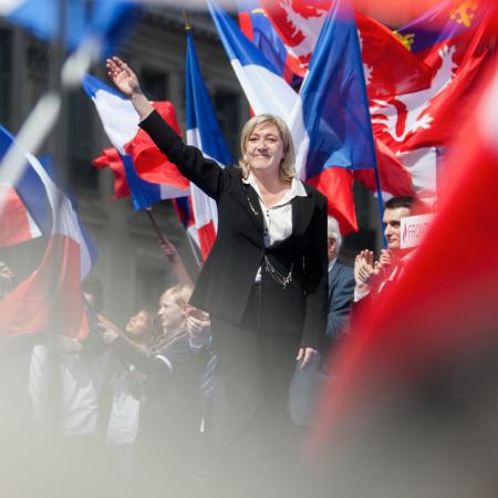 Marine Le Pen. BILD: Jacob Khrist