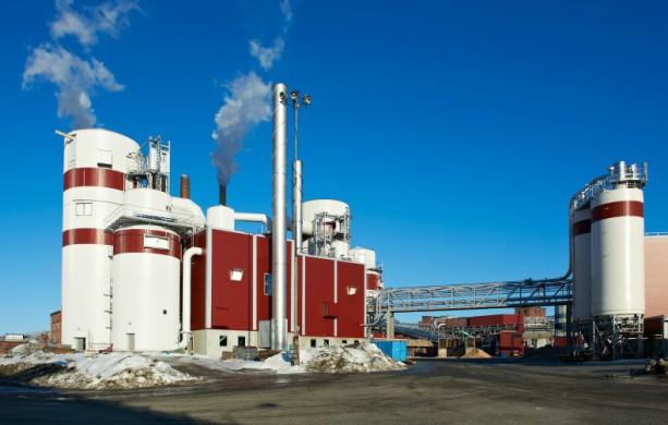 Domsjö fabriker utanför Örnsköldsvik Bild: Pressbild