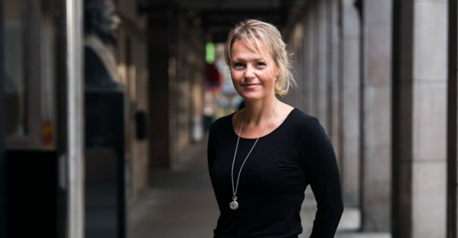 Monika Arvidsson, utredningschef Tankesmedjan Tiden