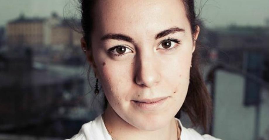 Hanna Lidström, språkrör Grön Ungdom