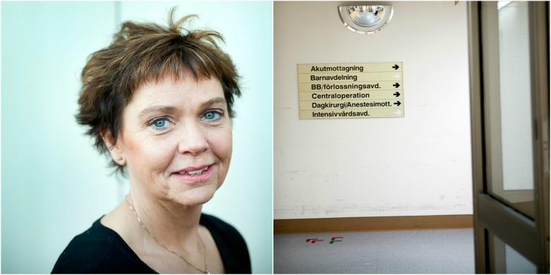 Jeanette Johansson/Sollefteå sjukhus. Foto: David Dahlberg