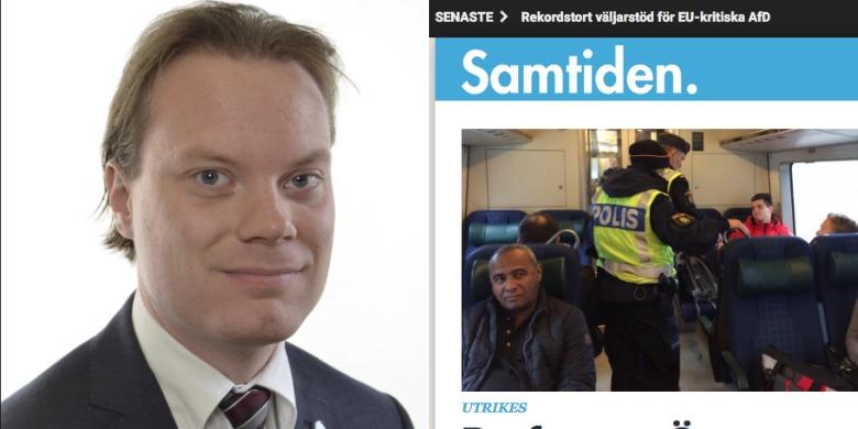 Bild: Riksdagen och skärmdump samtiden.se