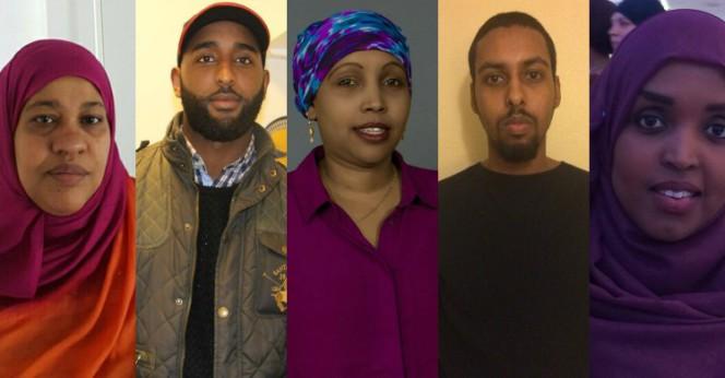 Run Amin Osman/Sugule Musa/Ifrah-Degmo Mohamed/Ilyas Hassan/Hamdiya Abshir. Foto: Privata.
