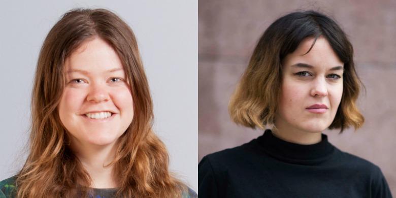 Anna Rantala Bonnier och Lisa Palm Foto: Oscar Stenberg/Fredrika Eriksson.