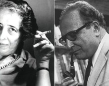 Bild: Hannah Arendt och Seymour Martin Lipset. Wikimedia commons.