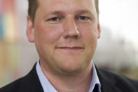 Tobias Baudin, ordförande i Kommunal