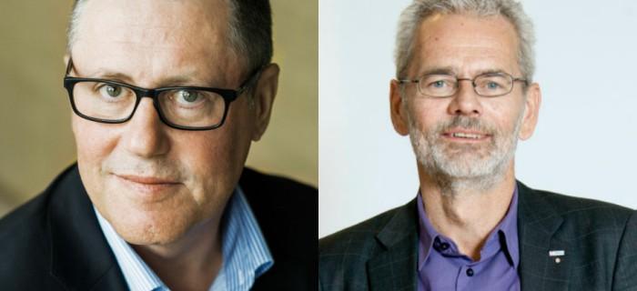 Anders Weihe, Teknikföretagen och Anders Ferbe, IF Metall.