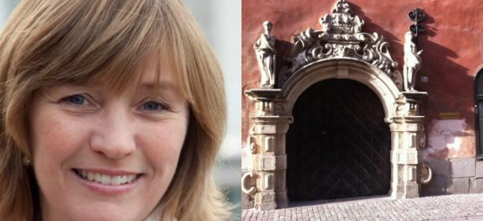 Camilla Frankelius, Sveriges ingenjörer och Arbetsdomstolen. Bild t h: Per-Olof Forsberg.