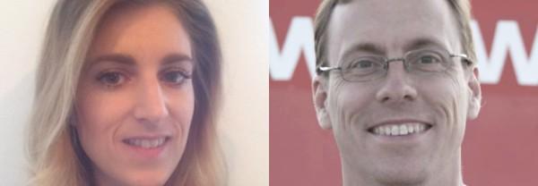 Emilia Ericson, vice ordförande i förbundet Humanisterna och Ulf Gustafsson, förbundssekreterare i förbundet Humanisterna.