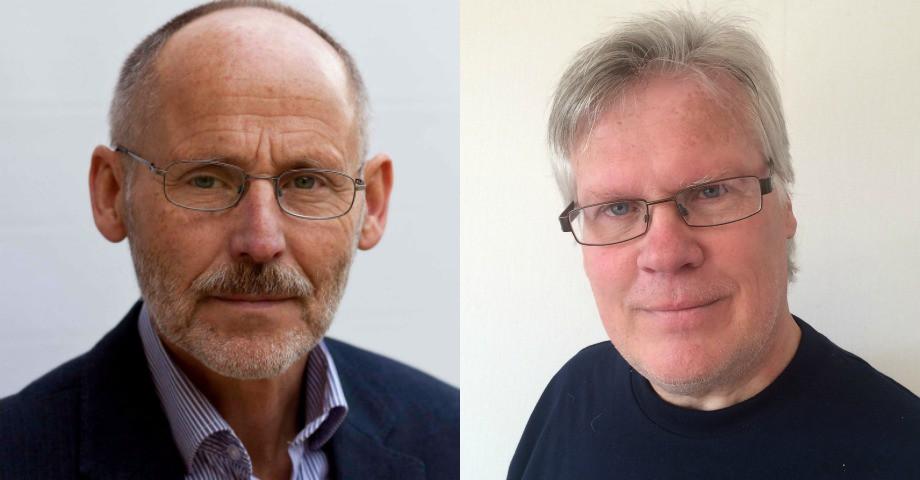 Sten Svensson och Mats Norrstad, medlemmar i Nätverket för en likvärdig skola