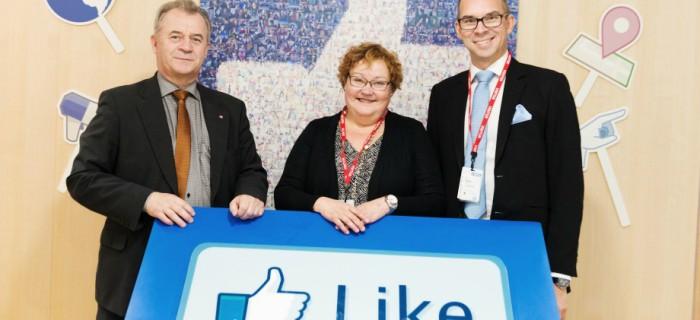 Sven-Erik Bucht (S), Yvonne Stålnacke (S) och Niklas Nordström (S). Bild: Flickr/Näringsdepartementet.