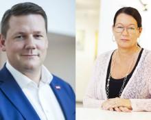Bild: Tobias Baudin och Lenita Granlund/Kommunal.
