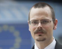 Max Andersson, EU-parlamentariker och miljöpartist