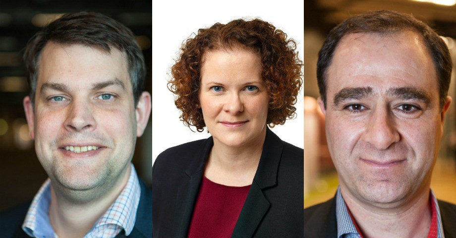 Bild: Andreas Schönström, Karin Wanngård, Ilan De Basso Socialdemokraterna.