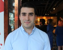 Roshan Yigit, styrelseledamot i Socialdemokratiska Studentförbundet