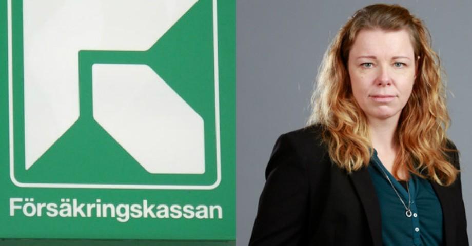 Jenny Cederborg, enhetschef på Försäkringskassan.