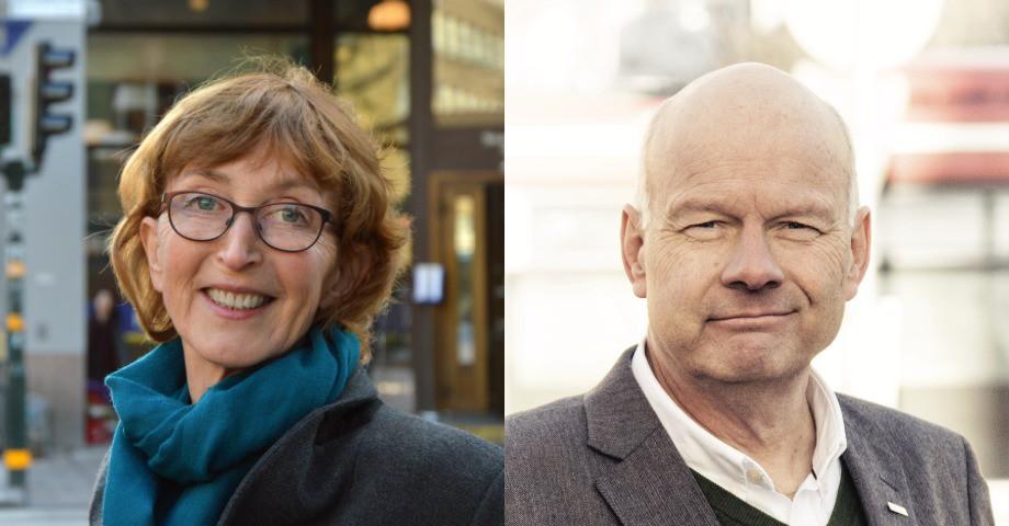 Karin Skånberg, regionchef Unionen Stockholm, Hans Fryklund, ordförande Unionen Stockholm.