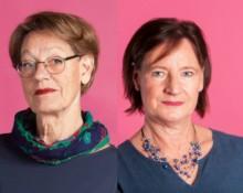 Lotten Sunna, Gudrun Schyman och Annelie Nordström, Feministiskt Initiativ
