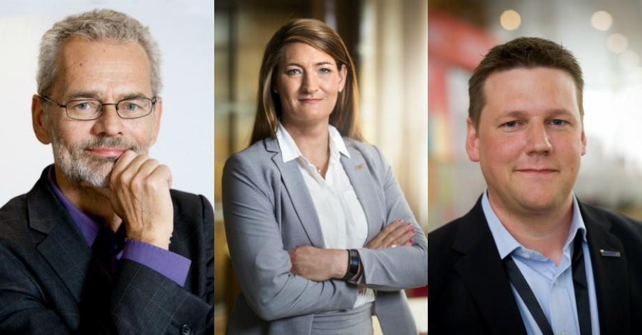 Anders Ferbe, Susanna Gideonsson, Tobias Baudin. BILDER: press.