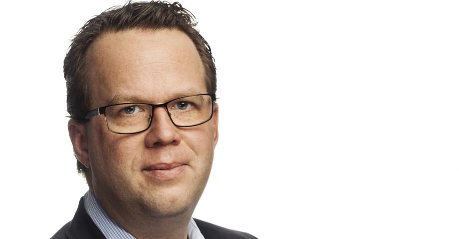 Martin Linder ordförande i Unionen. Foto: Thron Ullberg