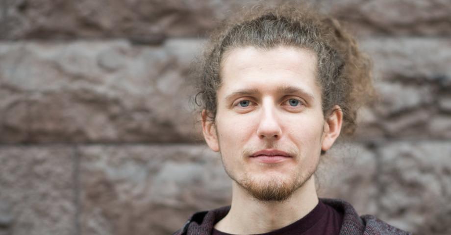 Viking Lindberg, ekonomiansvarig Unga Feminister