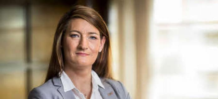 Susanna Gideonsson, ordförande Handelsanställdas förbund
