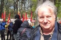 Jan-Ewert Strömbäck, författare »Upp till kamp! Historien om Första maj i Sverige och USA«