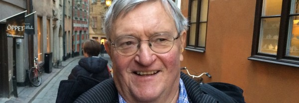 Gunnar Lassinantti, rådgivare för ABF Stockholms seminarieverksamhet, tidigare verksam vid Olof Palmes Internationella Center.