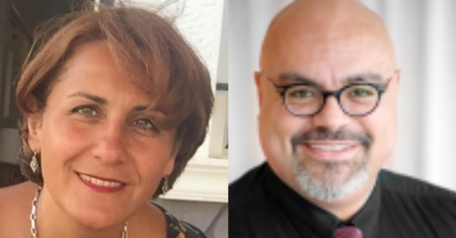Laleh Bakshi Baardh, biomedicinsk analytiker och Rodrigo-Germán Araya de Castilla förtroendevald Vårdförbundet