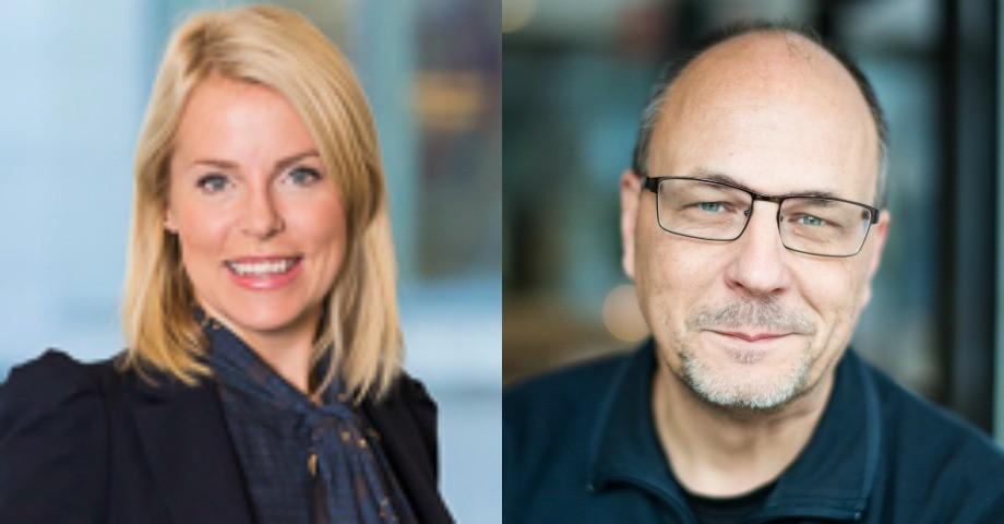 Josefine Pernes och Patrik LIndenfors / foto : Chriser Sturmark