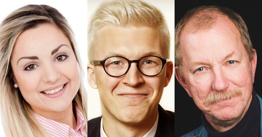 Henrietta Serrate, S, Pontus Samuelsson, SSU, Gunnar Storbjörk S