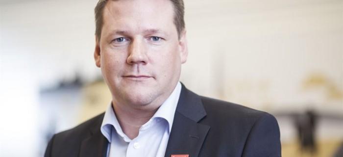 Tobias Baudin, förbundsordförande Kommunal.