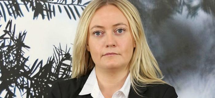 Madelene Engman, avtalssekreterare GS. FOTO: Lazze Öst