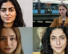 Lara Siadat, Ebba Borg,  Alice Josephson,  Aida Badeli,