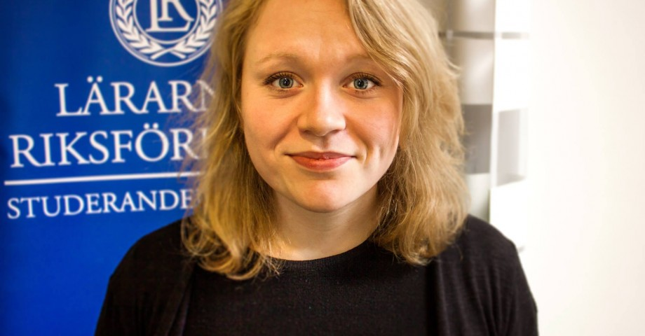 Mimmi Rönnqvist, Lärarnas Riksförbunds studerandeavdelning
