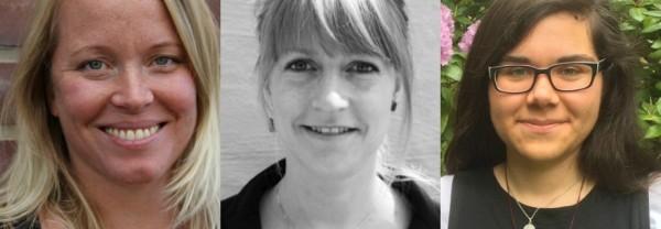 Karin Ericsson, Anna Glover, Andrea Söderström-Tay