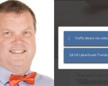 Mats Siljehult, vd för Wetterhälsan och startsidan för Läkarhuset i tranås webbplats.