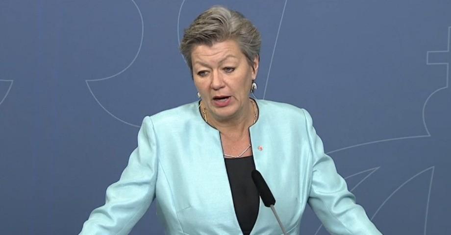 Arbetsmarknadsminister Ylva Johansson.