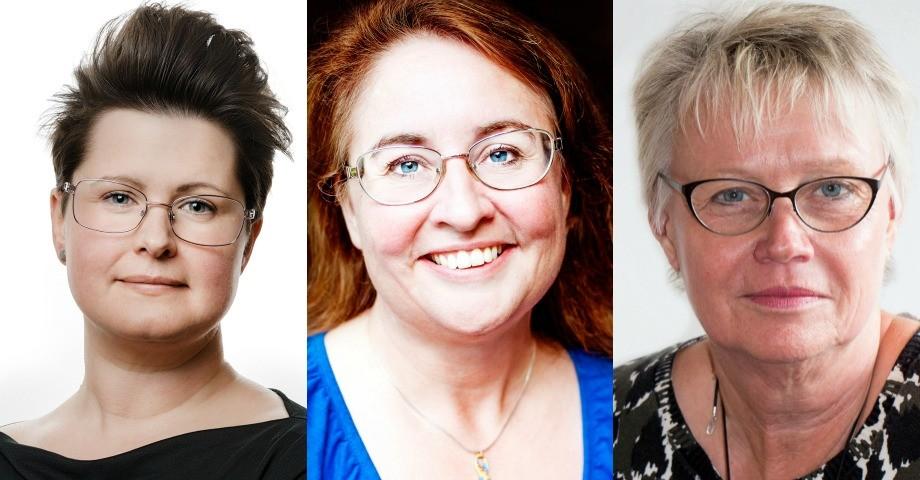 Ida Kahlin, foto Jonas Eriksson, Anne Lönnemark, Anki Sandberg