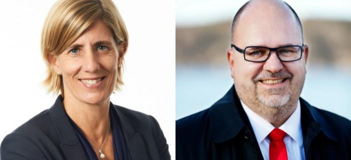 Åsa-Pia Järliden Bergström/ Karl-Petter Thorwaldsson. FOTO: Press