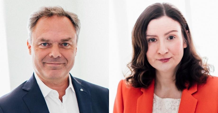 Jan Björklund och Birgitta Ohlsson. Bilder: Liberalerna