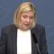 Finansminister Magdalena Andersson (S). Bild: skärmdump