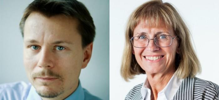 John Ekberg (statistikansvarig), Carina Gunnarsson Generaldirektör  Medlingsinstitutet. FOTO: press