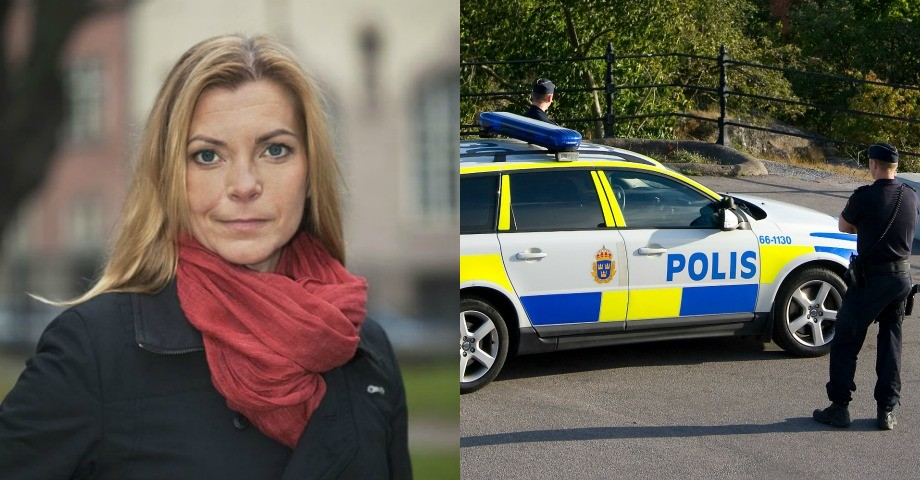 Lena Nitz ordförande Polisförbundet. FOTO: Pernille Tofte, polismyndigheten.