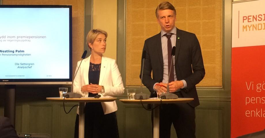 Annika Strandhäll och Per Bolund.